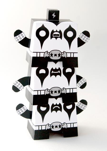 Hollow Threat Paper Totem