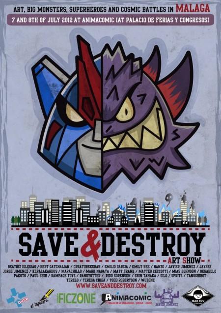 SAVE & DESTROY