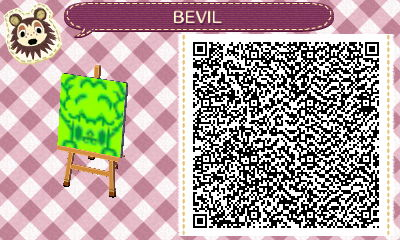 Animal Crossing New Leaf - BEVIL QR