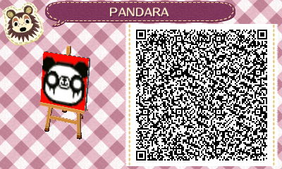 Animal Crossing New Leaf - PANDARA QR