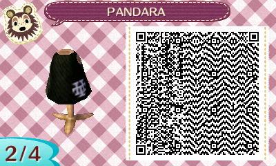 Animal Crossing New Leaf - PANDARA shirt QR 2/4