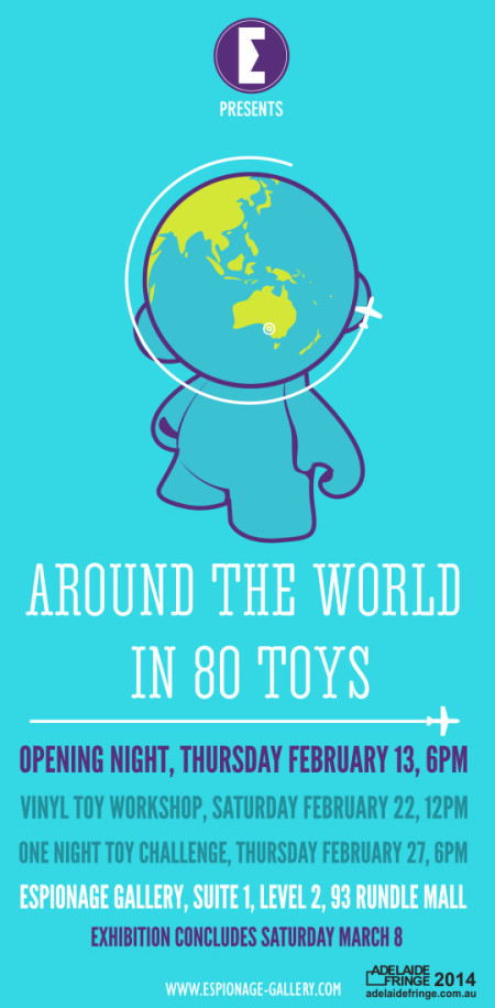 Around The World in 80 Toys Concept Flyer Final Outlines
