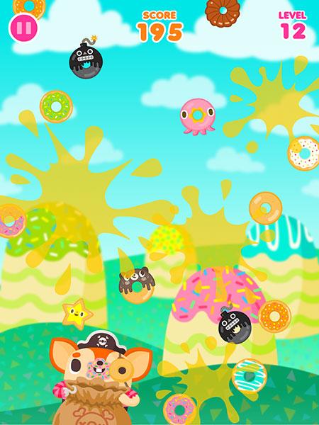 Donut Pirate Game