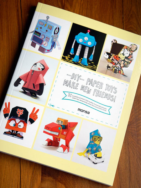 DIY - Paper Toys Make New Friends